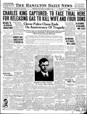 Hamilton Daily News October 28, 1930