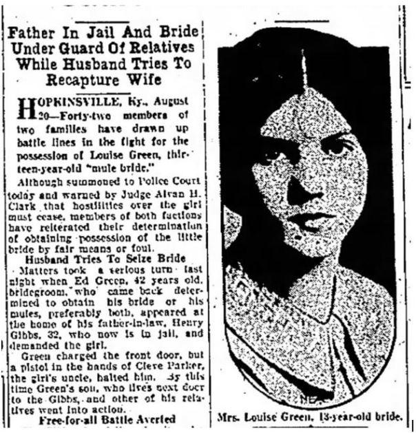 1929 mule bride02