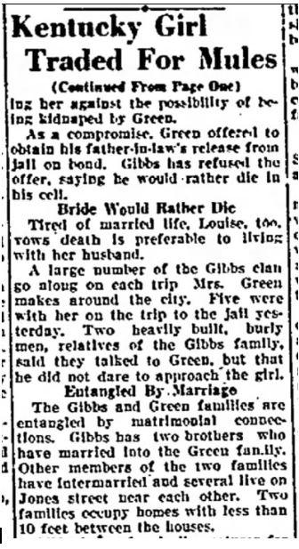 1929 mule bride04