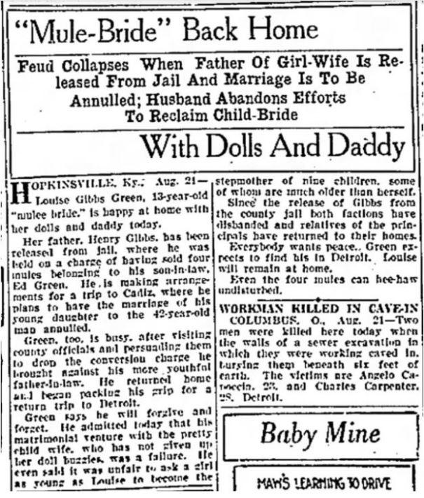 1929 mule bride07