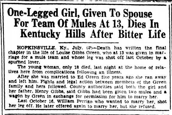 1929 mule bride11